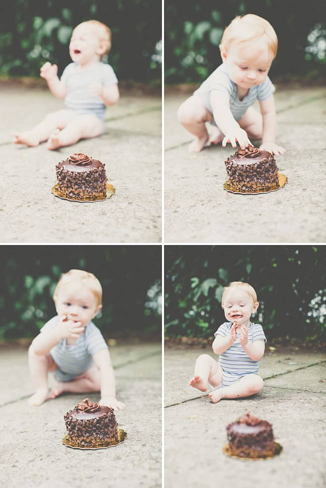 Sam's First Birthday