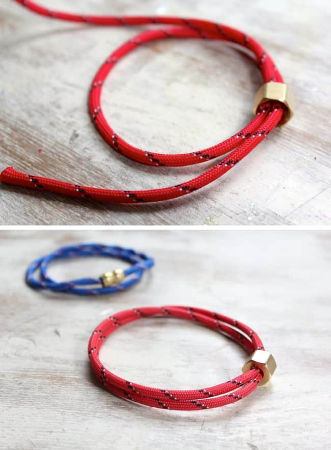 Diy 3 Last Minute Rope Bracelets For Dad O Glow