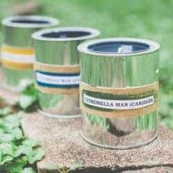 DIY Citronella Paint Can Candles for Dad