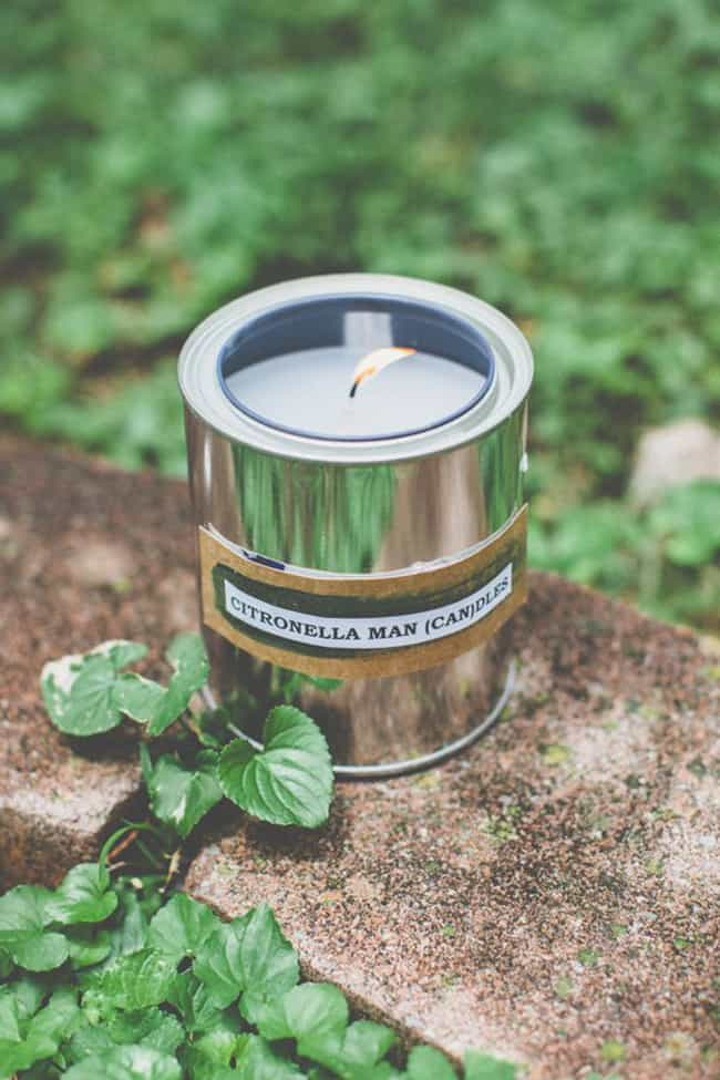 Citronella Paint Can Candles for Dad | HelloGlow