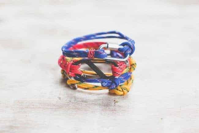 DIY 3 Last Minute Rope Bracelets for Dad