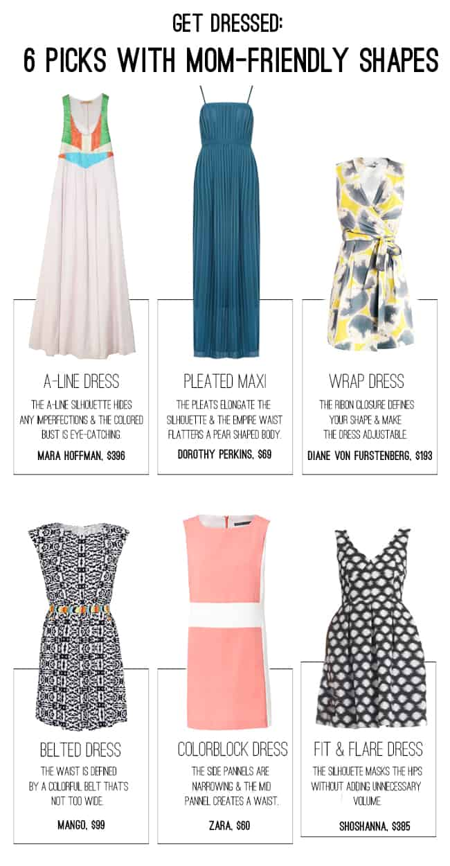 6 Mom-Friendly Dress Picks | Hello Glow