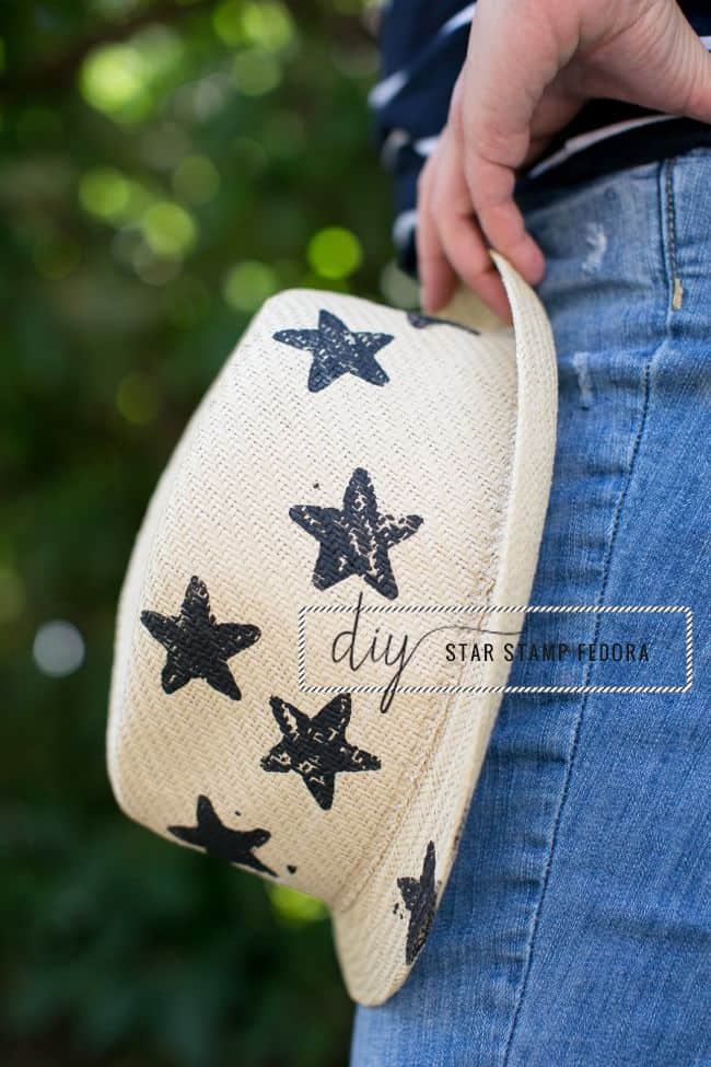 DIY star fedora