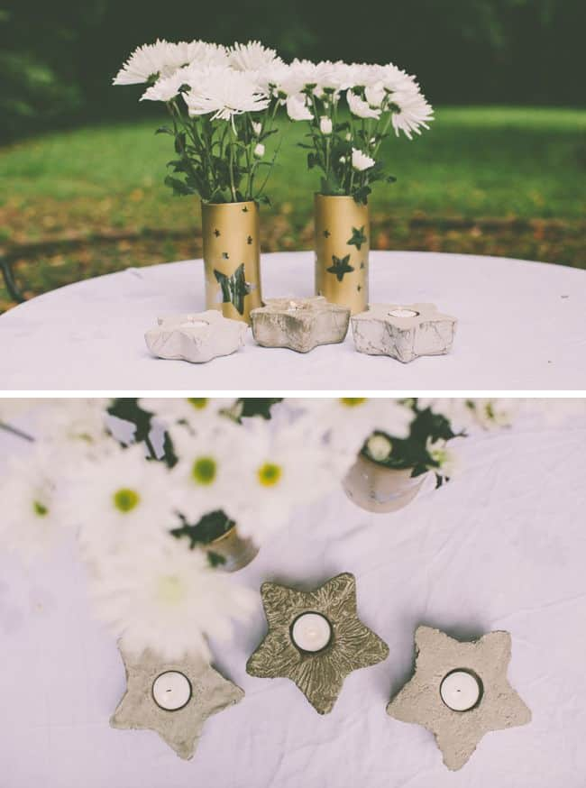 DIY Votives with Cement | Henry Happened