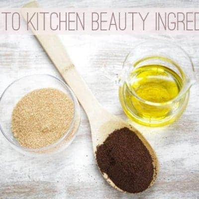 Guide to kitchen beauty ingredients