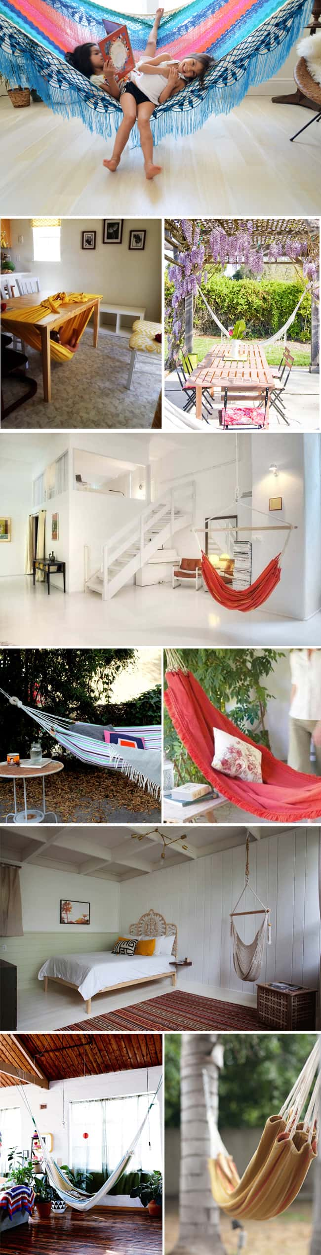 Our Favorite Hammock DIYs + Projects
