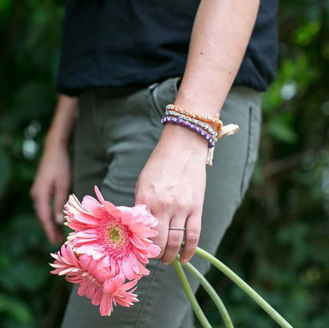DIY Tory Burch bracelet | Hello Glow