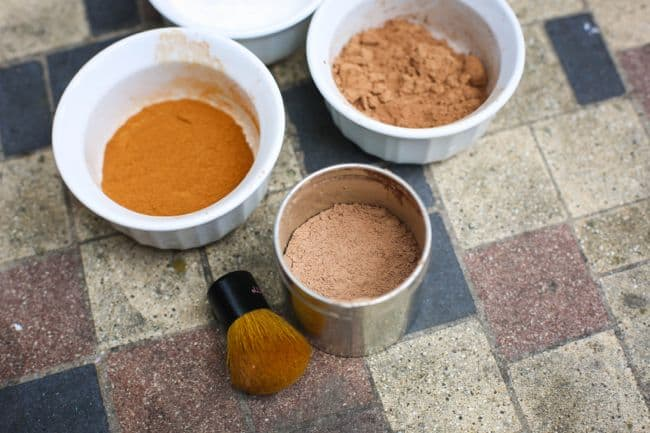 homemade bronzing powder