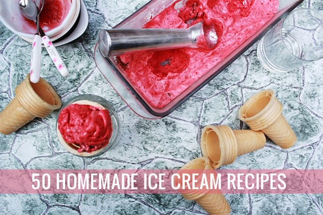 50 Homemade Ice Cream Recipes | Hello Glow