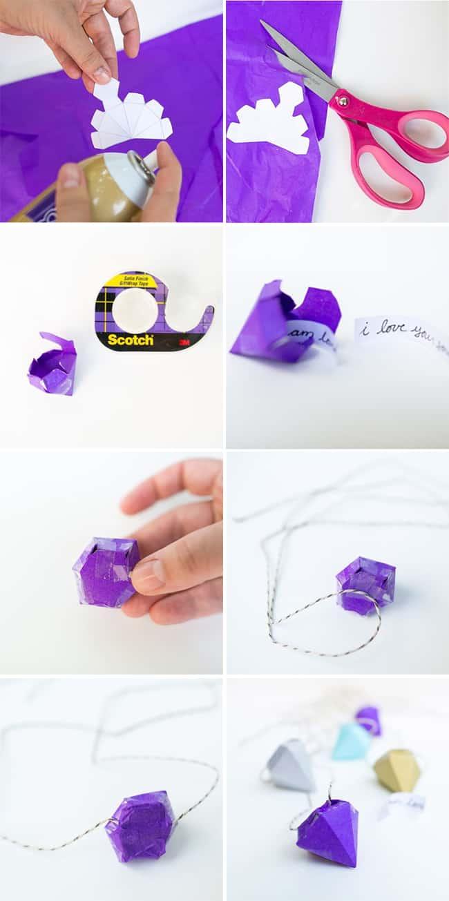 DIY Necklace Pinata | Hello Glow