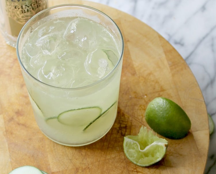 Cucumber Moscow Mule   50 Low-Cal Cocktails