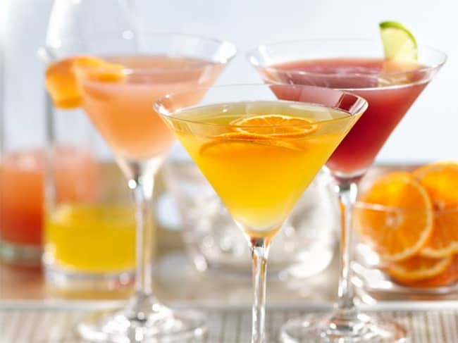 Skinny Clementine Martini | 50 Low-Cal Cocktails