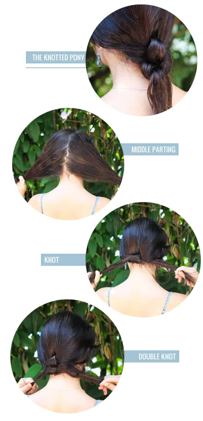 4 easy ponytail alternatives for moms | Hello Glow
