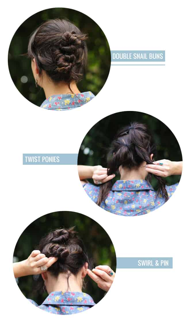 4 Ponytail Alternatives