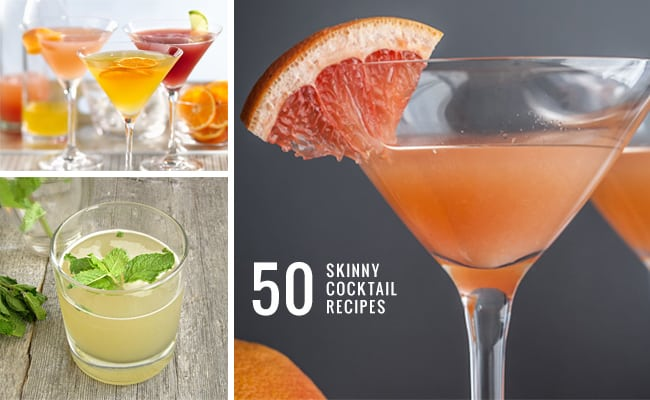 50 Skinny Cocktail Recipes | Hello Glow