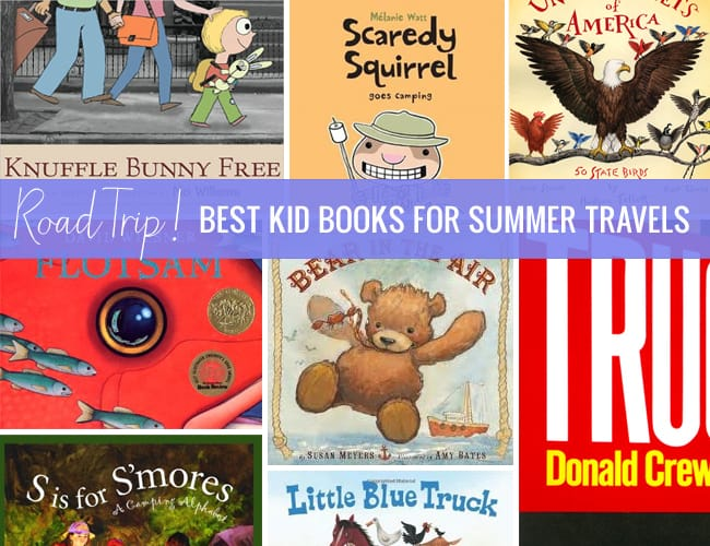 Road Trip! Best Kid Books for Summer Travels - Hello Glow