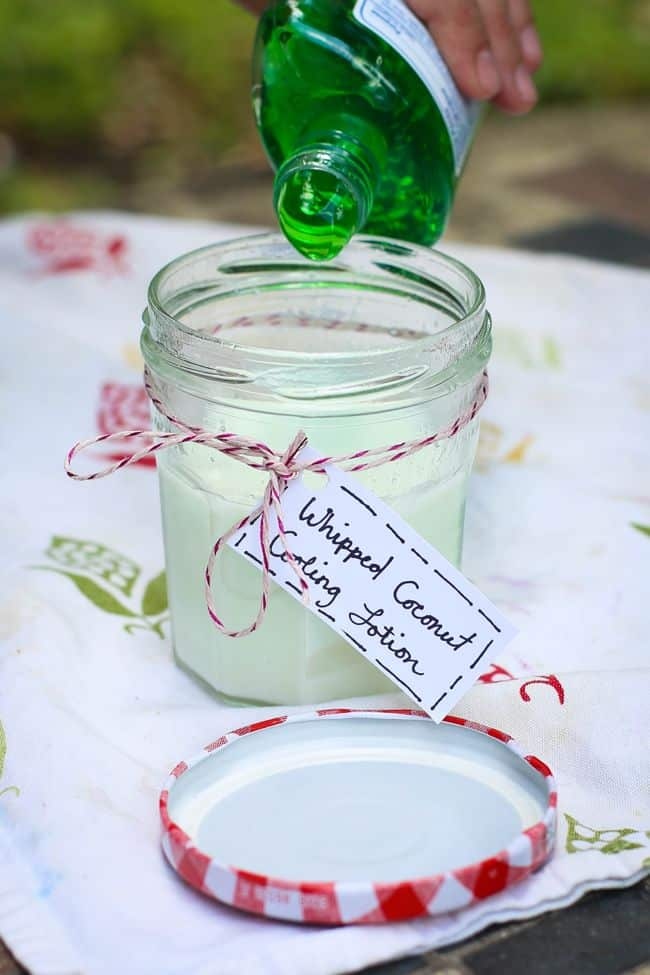 Whipped Coconut Cooling Lotion