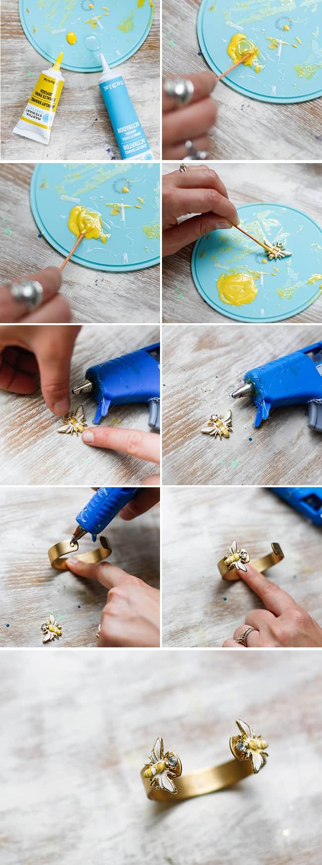 DIY Trendy Bee Cuff | Henry Happened