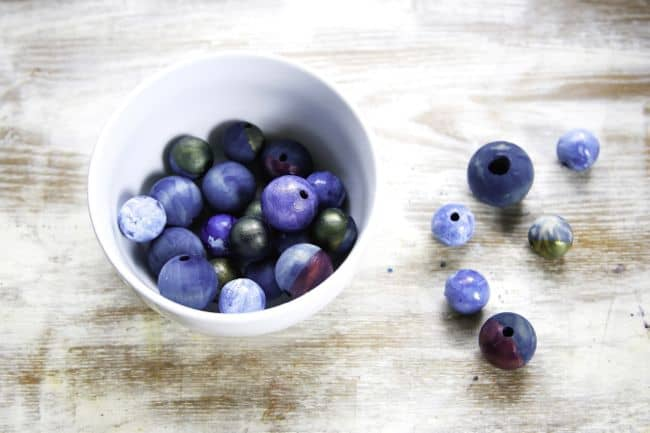 Dyed Wooden Beads | Hello Glow