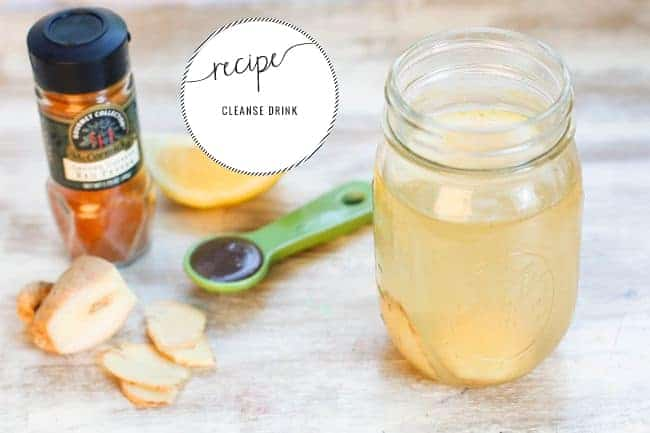 Daily Cleanse Water | 50 Detox Drinks