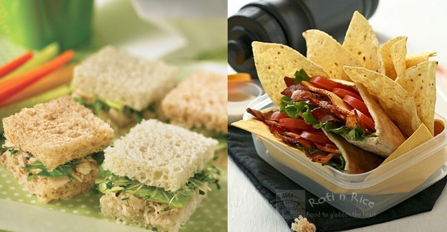 45 perfectly packable lunch recipes for Lunch food