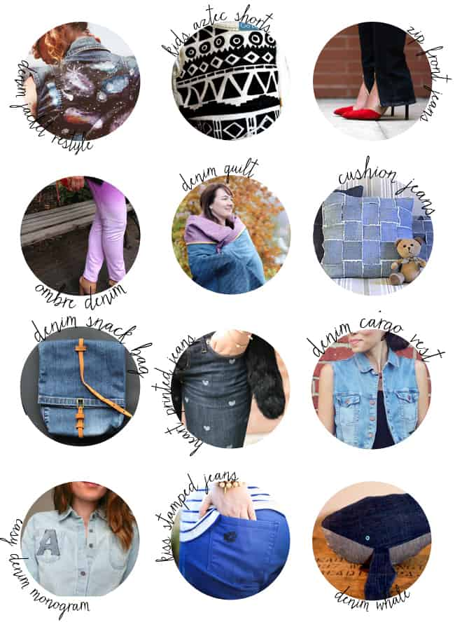 25 DIY Denim Tutorials | Hello Glow