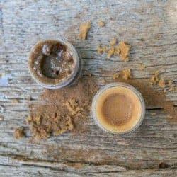 Pumpkin Pie Homemade Lip Balm + Edible Lip Scrub