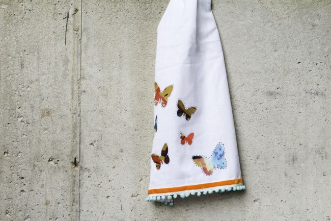 Anthropologie DIY Tea Towel | Henry Happened