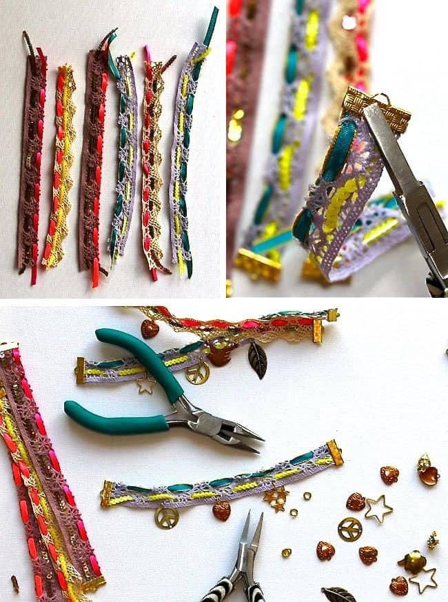 Lace-Charm-Bracelet-Step1-3
