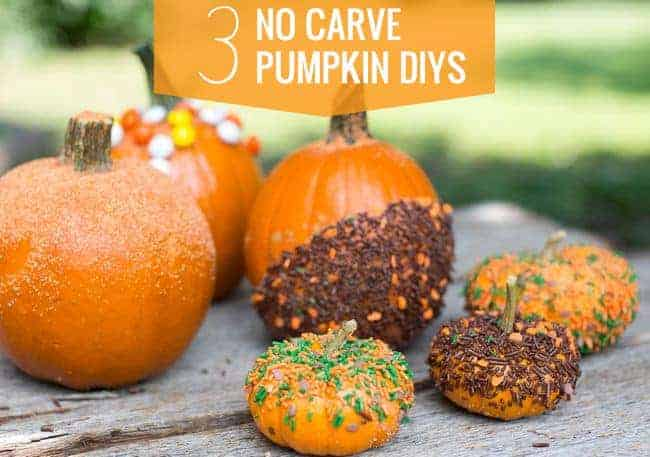 3 DIY No Carve Pumpkins | Hello Glow