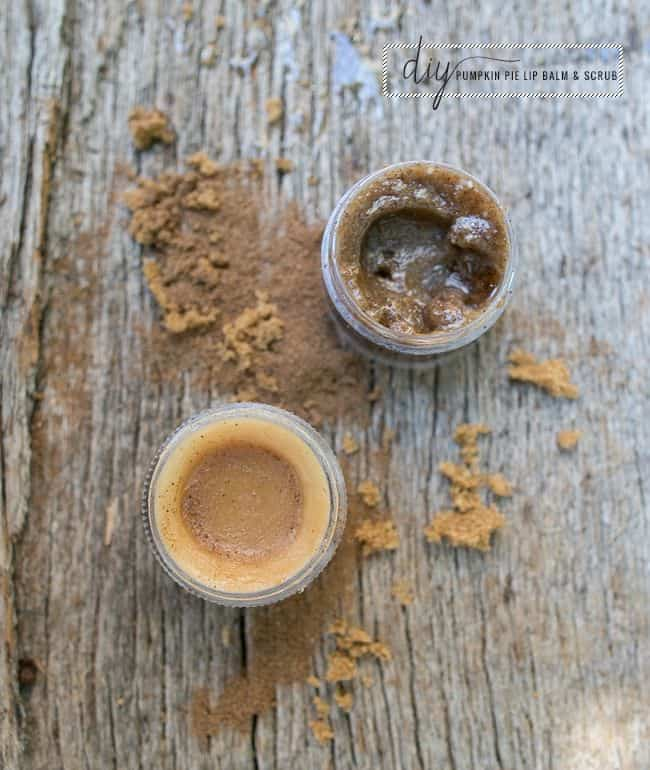 Pumpkin Spice Lip Scrub | 10 DIY Lip Scrub Recipes