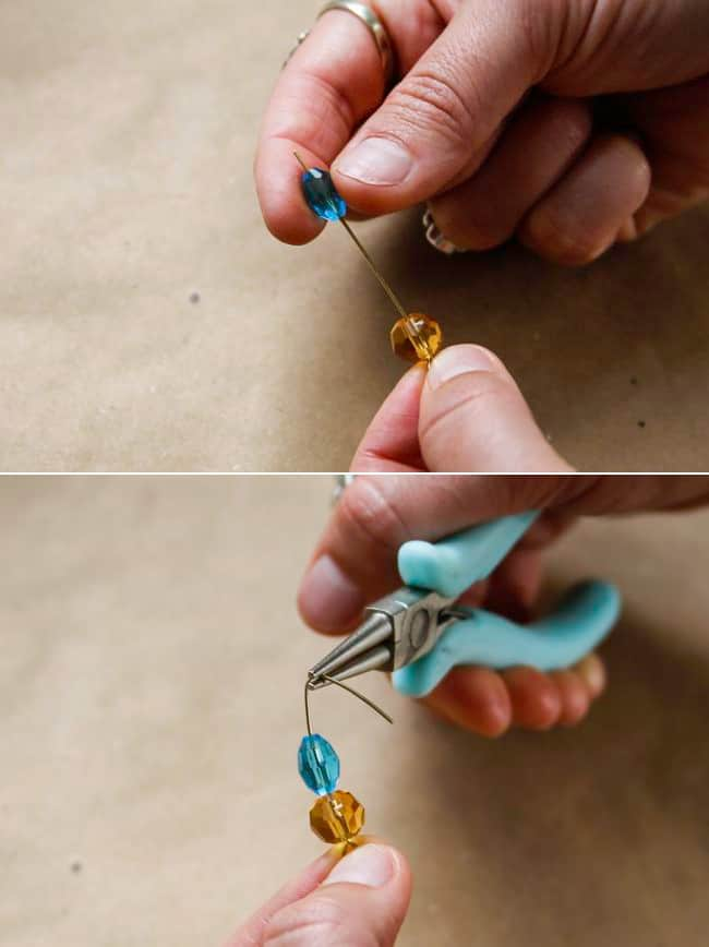 How to make earrings with eyepins | Hello Glow