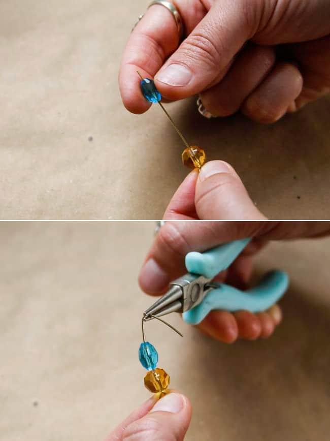 Как сделать себе серёжки