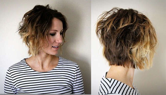 Easy Waves for Short Hair by One Little Momma