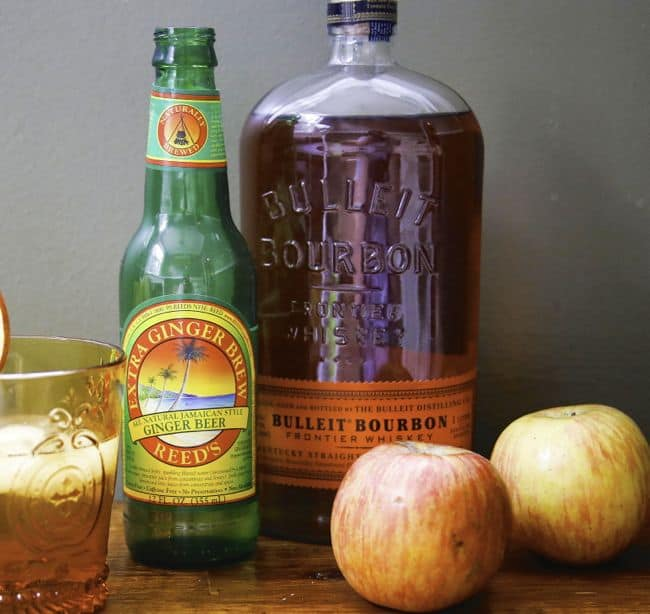 Bourbon Ginger Cider Recipe | Hello Glow