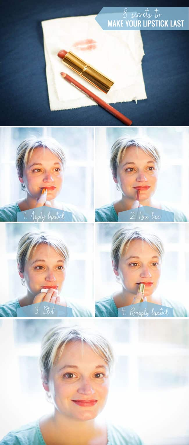 8 Secrets to Make Your Lipstick Last | Hello Glow