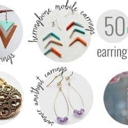 50 Gorgeous DIY Earrings