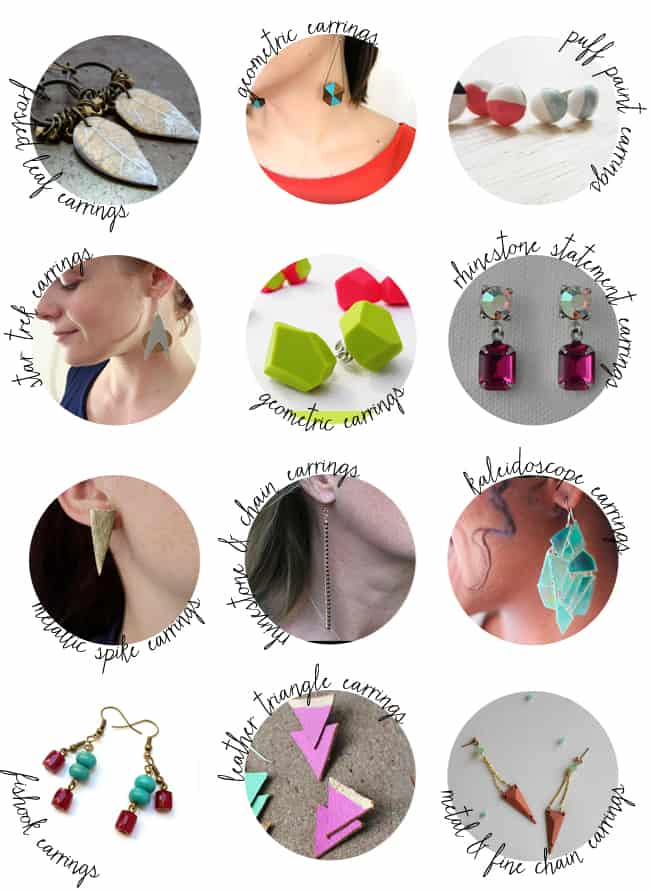 50 DIY Earring Tutorials | Henry Happened