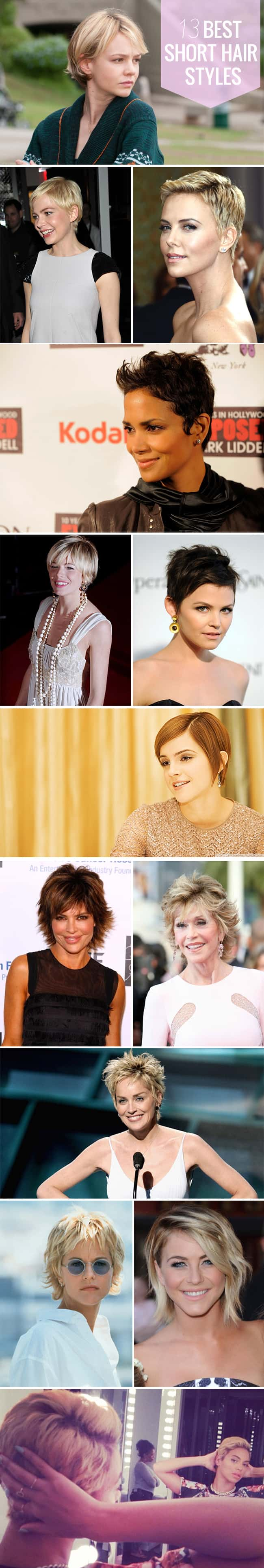 13 Best Short Hairstyles | Hello Glow