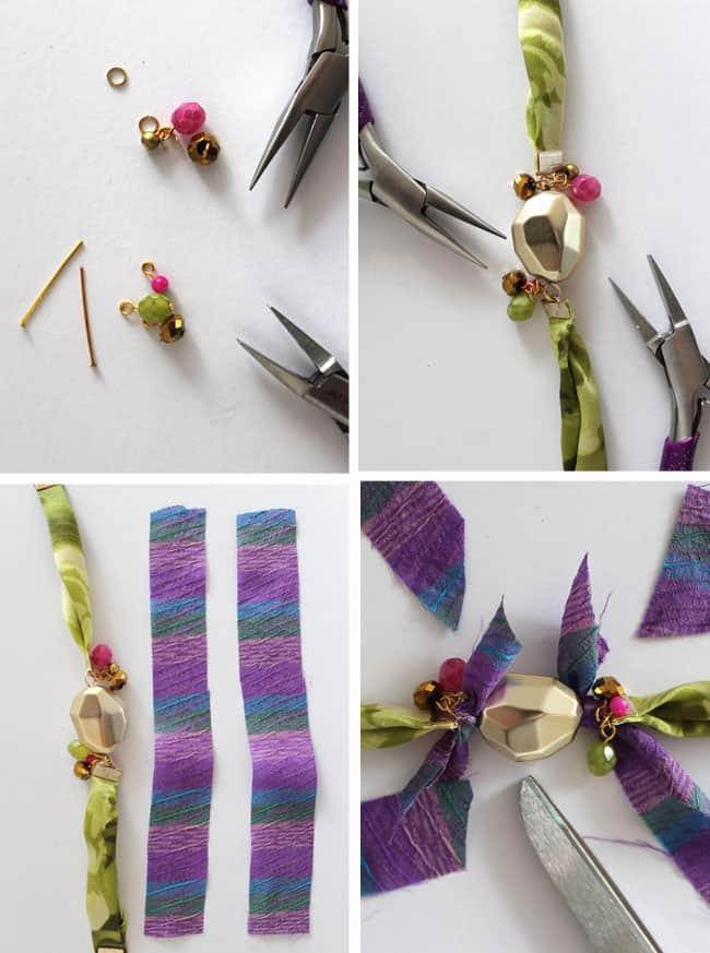 DIY Wrap Bracelet | Hello Glow