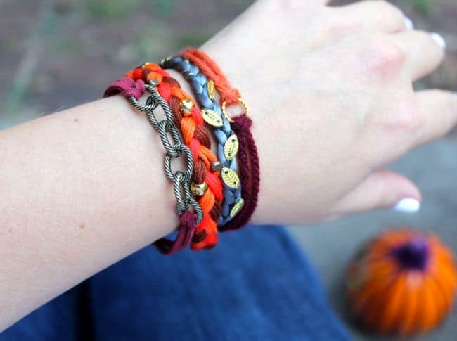 Pumpkin Spice Bracelet Stack | Henry Happened