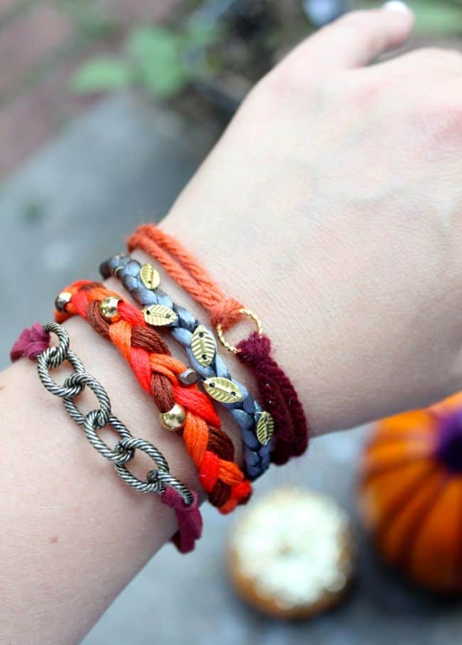 Fall Bracelet Stack Tutorial | Henry Happened