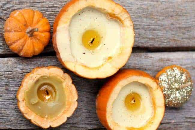 How To Make Cinnamon Pumpkin Candles