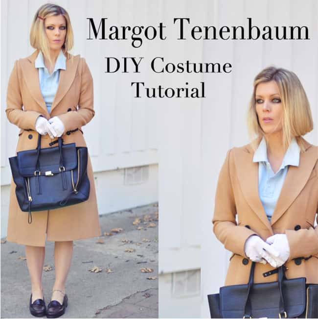 Margot Tenenbaum hair & make-up | Hello Glow