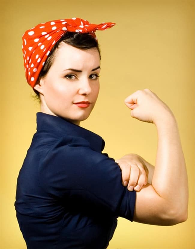 Rosie the Riveter | Hello Glow