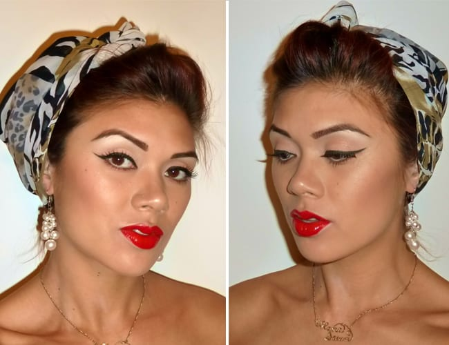 Pin-Up Girl make-up | Hello Glow