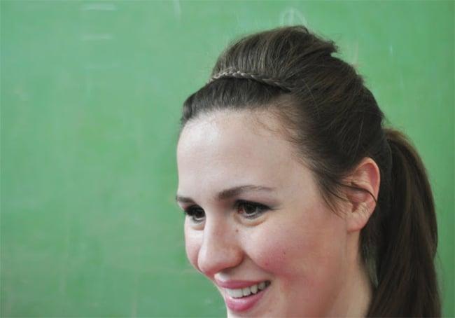 Heidi Braid | 25 Easy Updos | HelloGlow.co