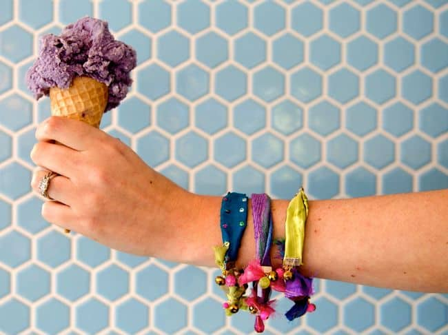 DIY Fabric Scrap Bracelet | Hello Glow