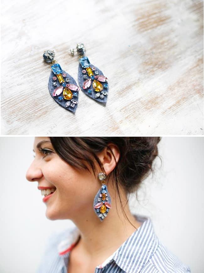 DIY J. Crew Earrings | Henry Happened