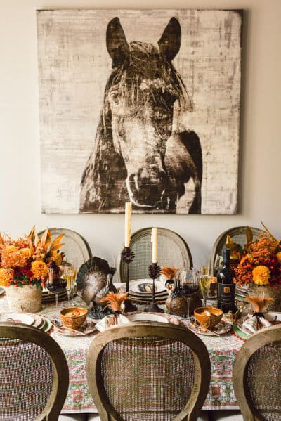Southern Thanksgiving Table